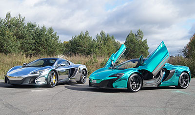 WrapZone Chrome McLarens